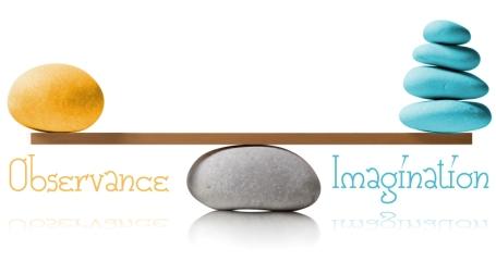 Observance Imagination balance
