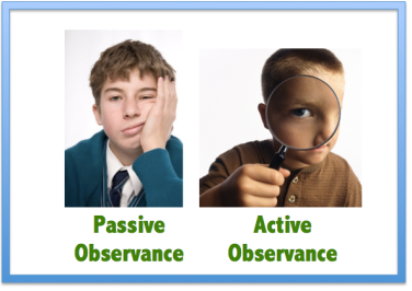 Passive and Active Observance